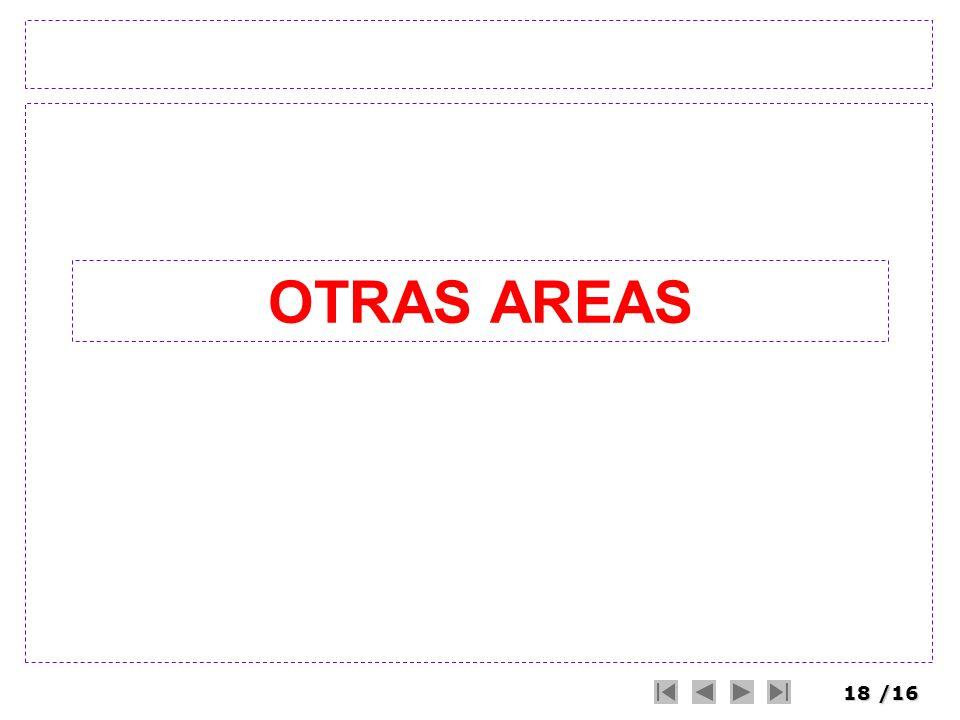 18/16 OTRAS AREAS
