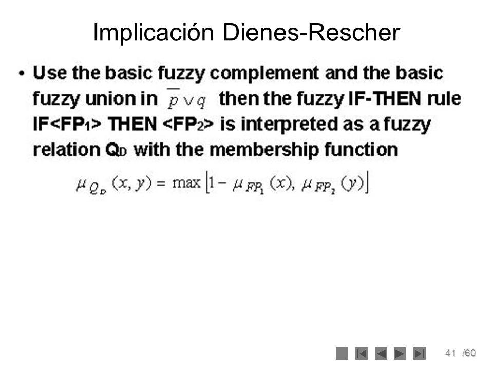 41/60 Implicación Dienes-Rescher