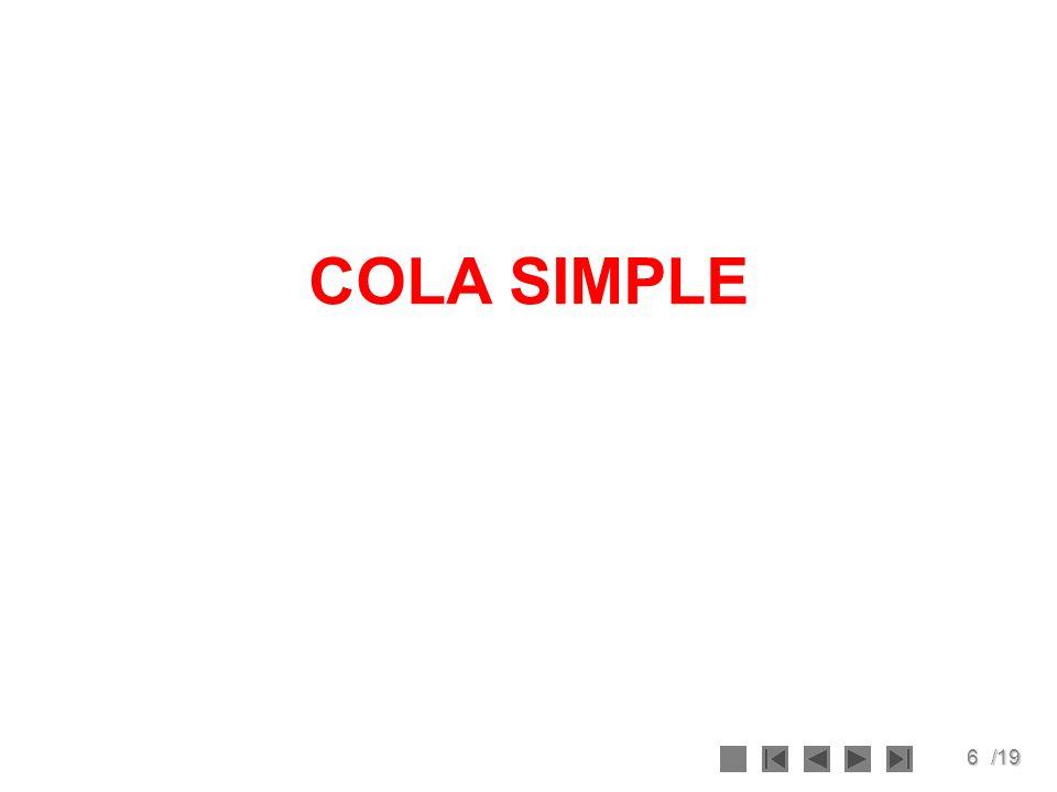 6/19 COLA SIMPLE