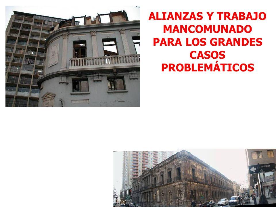 ALIANZAS Y TRABAJO MANCOMUNADO PARA LOS GRANDES CASOS PROBLEMÁTICOS