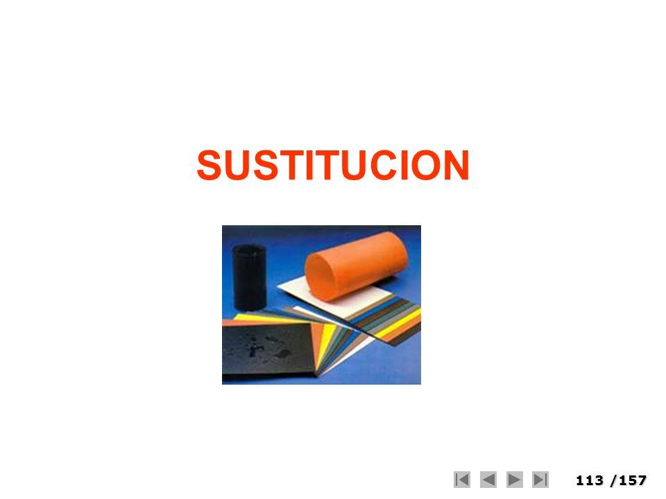 113/157 SUSTITUCION