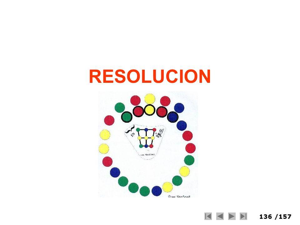 136/157 RESOLUCION