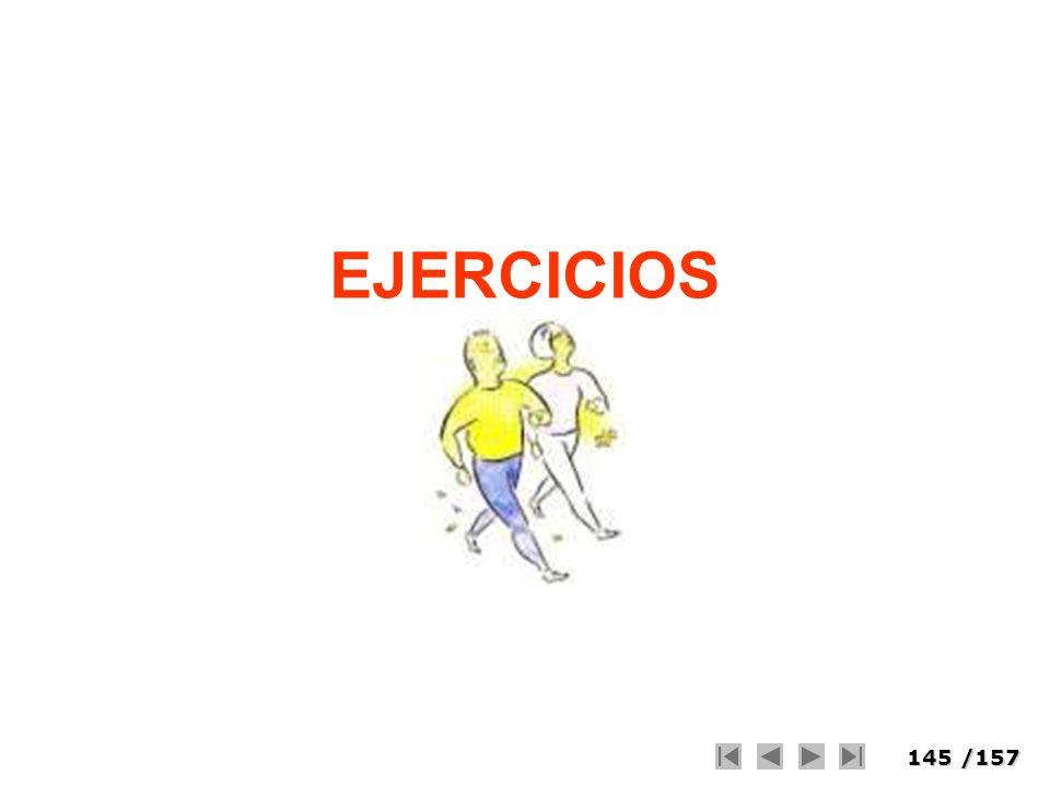 145/157 EJERCICIOS