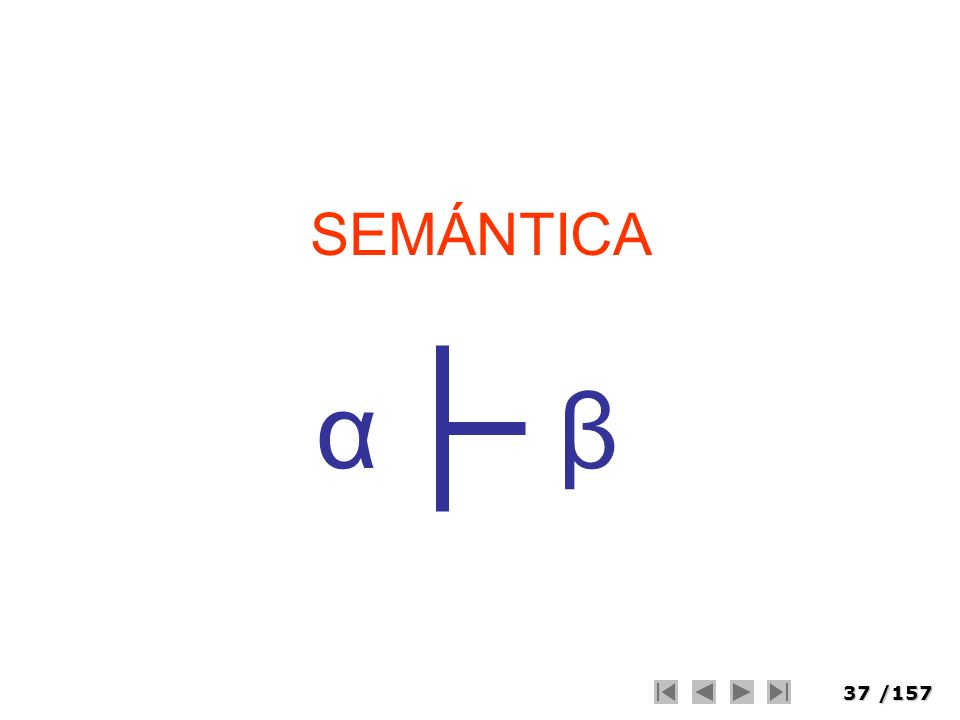 37/157 SEMÁNTICA βα