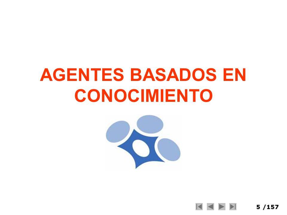 5/157 AGENTES BASADOS EN CONOCIMIENTO