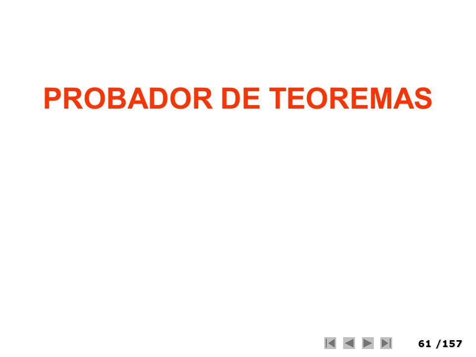 61/157 PROBADOR DE TEOREMAS