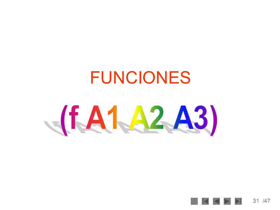 31/47 FUNCIONES