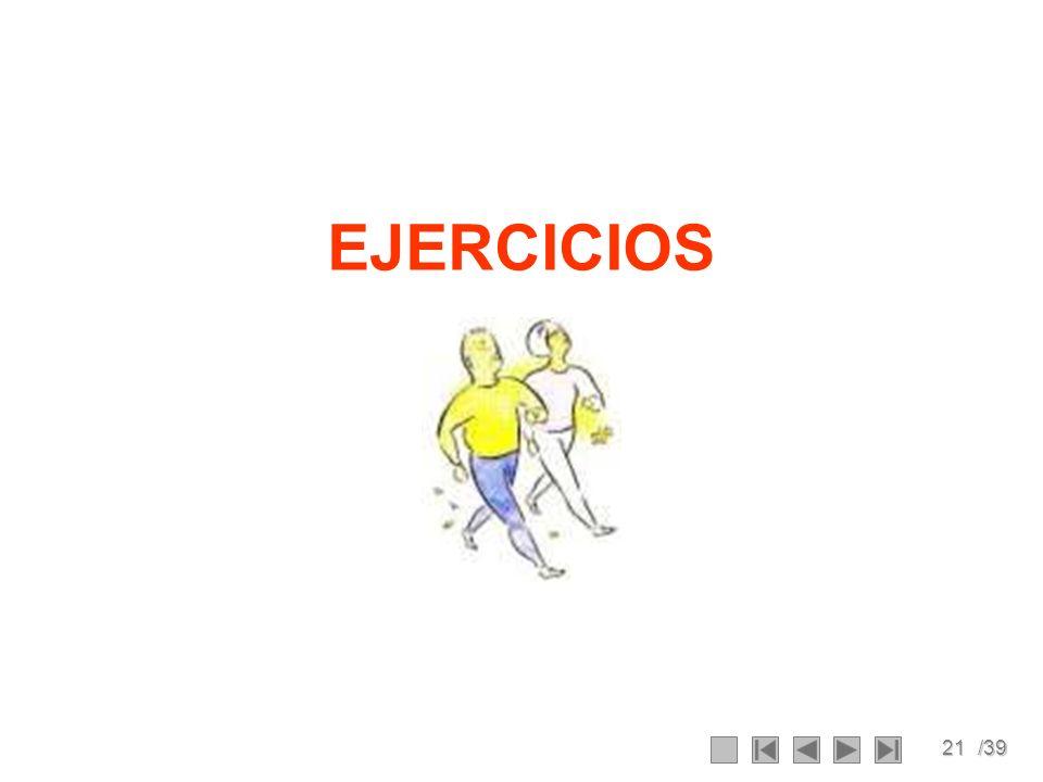 21/39 EJERCICIOS
