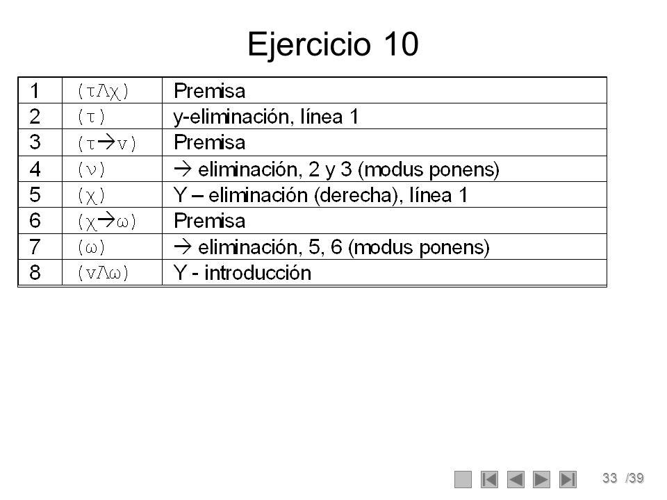 33/39 Ejercicio 10