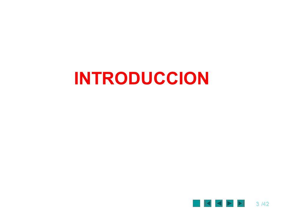 74/42 La estructura de los problemas Los problemas se resuelven independientemente.