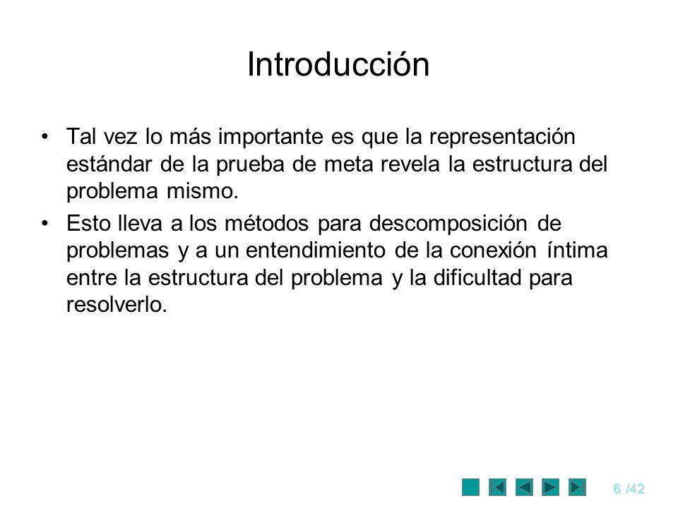 7/42 PROBLEMA DE SATISFACCION DE RESTRICCIONES