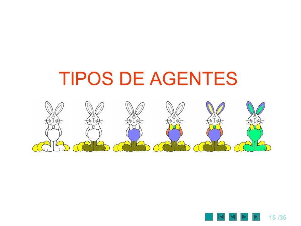 15/35 TIPOS DE AGENTES