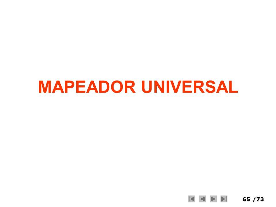 65/73 MAPEADOR UNIVERSAL