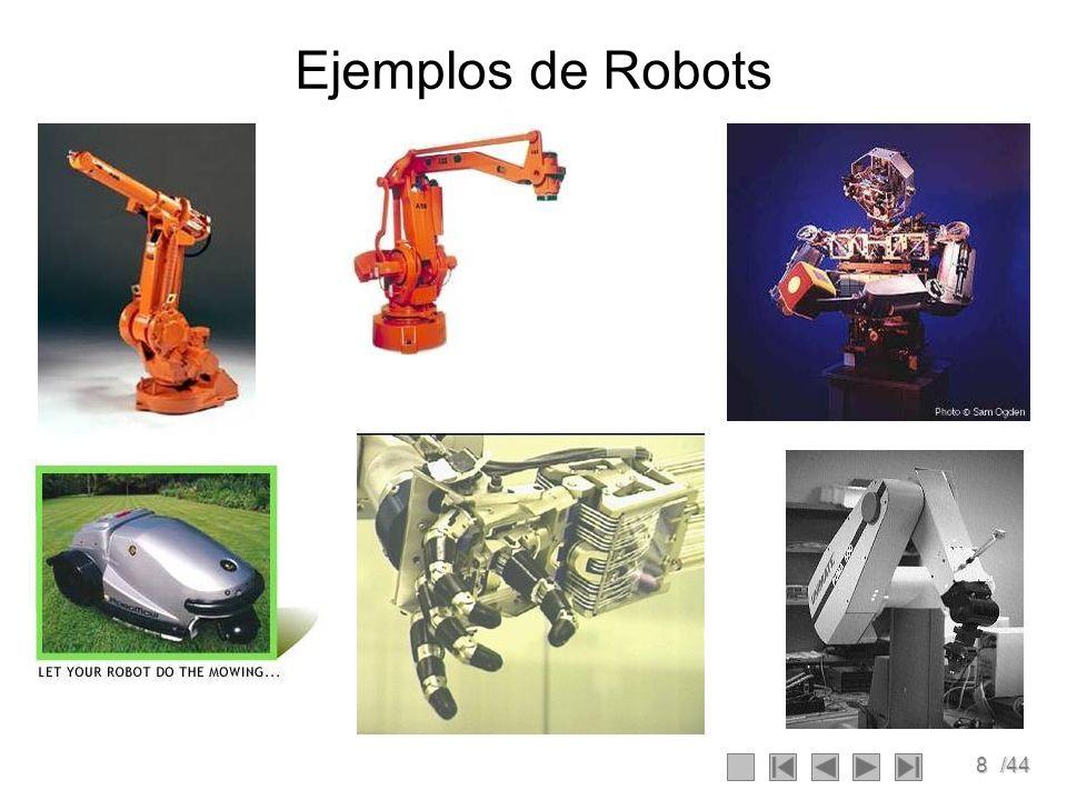 8/44 Ejemplos de Robots