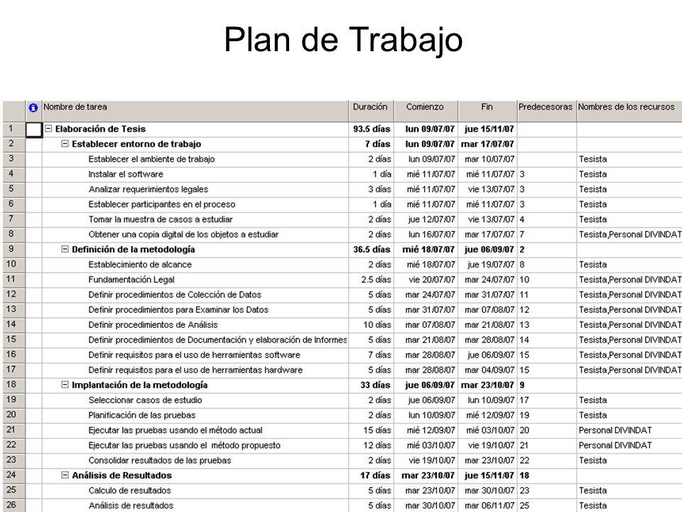 28/31 Plan de Trabajo