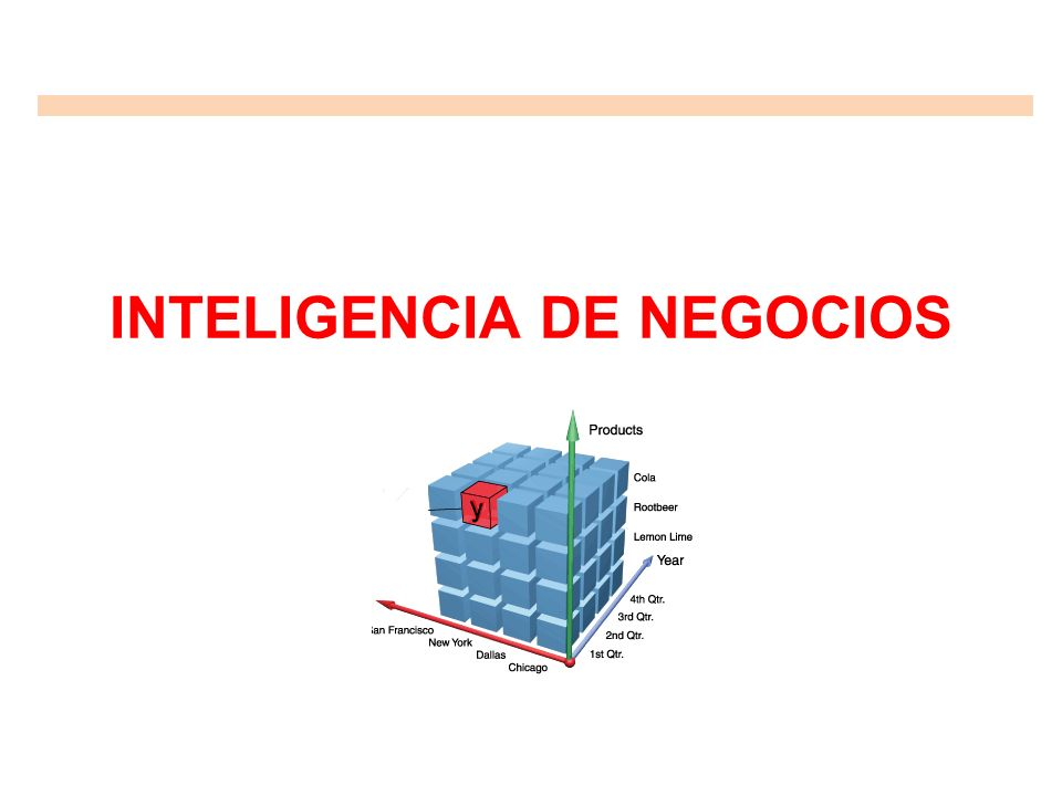 Inteligencia de Negocios Inteligencia de Negocios.