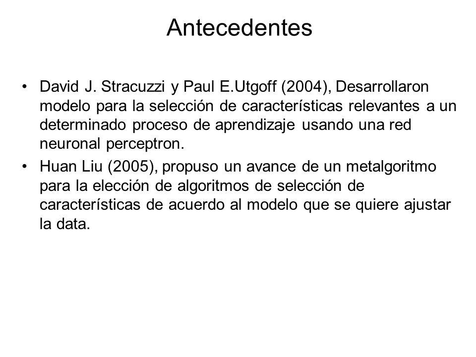 Antecedentes David J.