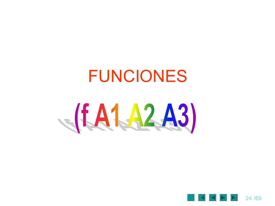 24/69 FUNCIONES