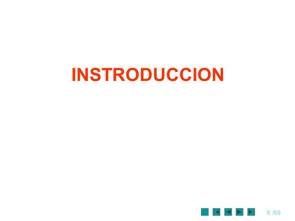 6/69 INSTRODUCCION