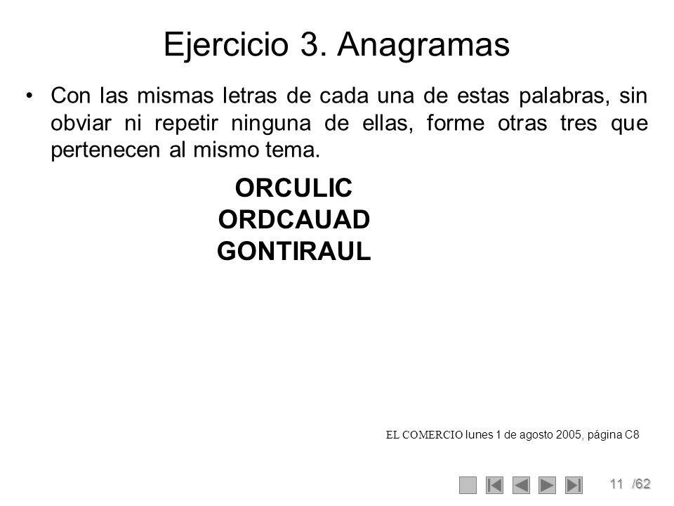 11/62 Ejercicio 3.