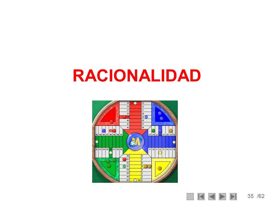 35/62 RACIONALIDAD
