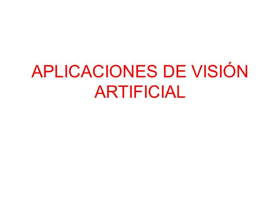 APLICACIONES DE VISIÓN ARTIFICIAL