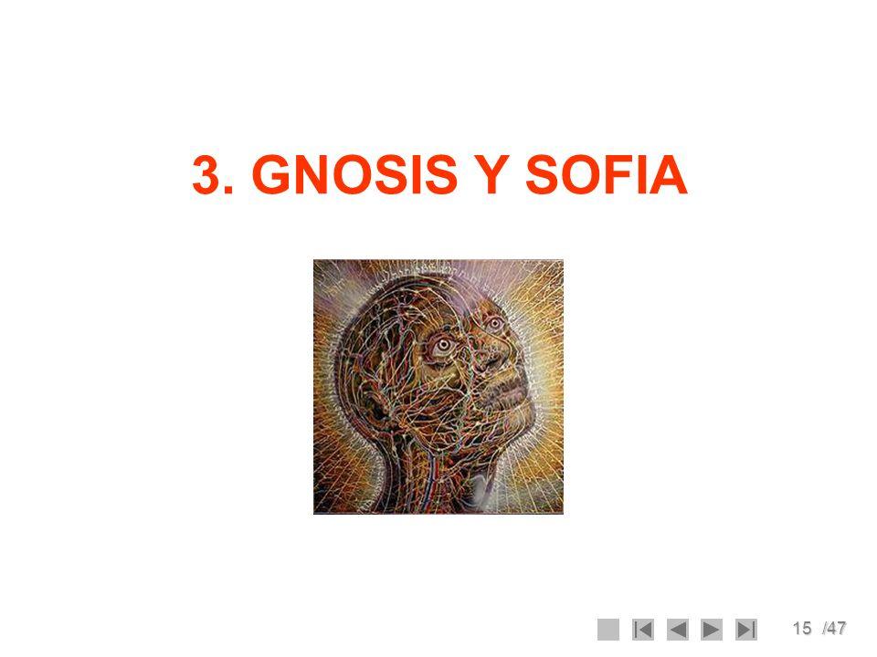15/47 3. GNOSIS Y SOFIA