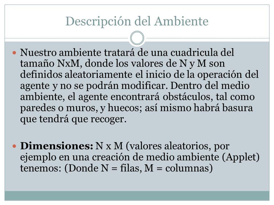 Agente con Memoria interna (Estadisticas)....