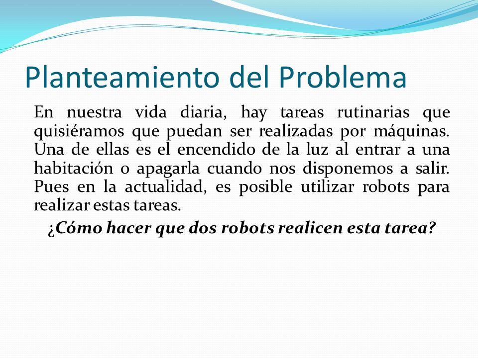 Planteamiento del Problema En nuestra vida diaria, hay tareas rutinarias que quisiéramos que puedan ser realizadas por máquinas. Una de ellas es el en