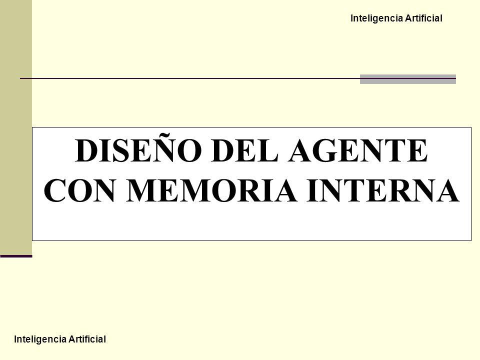 Inteligencia Artificial DISEÑO DEL AGENTE CON MEMORIA INTERNA
