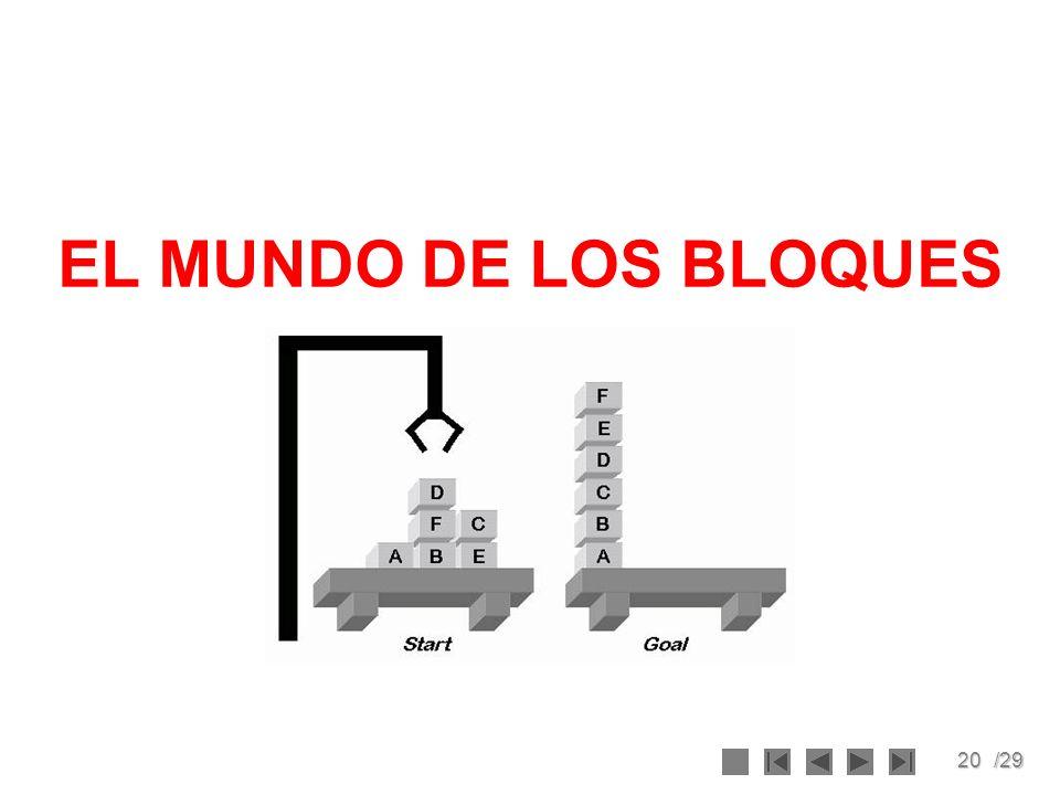 20/29 EL MUNDO DE LOS BLOQUES