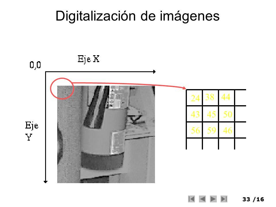 33/16 Digitalización de imágenes 24 38 4345 565946 50 44