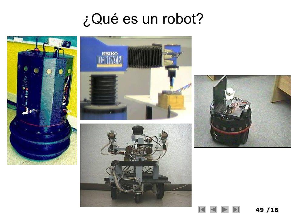 49/16 ¿Qué es un robot?