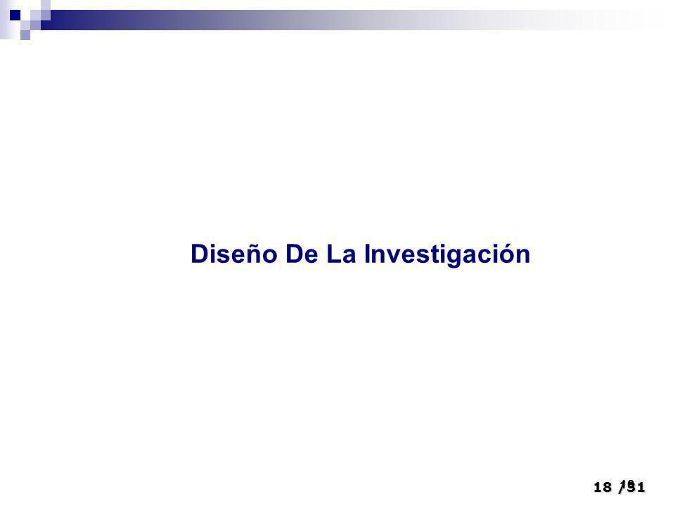18/31 18 Diseño De La Investigación