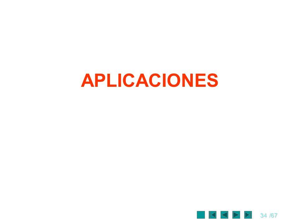 34/67 APLICACIONES
