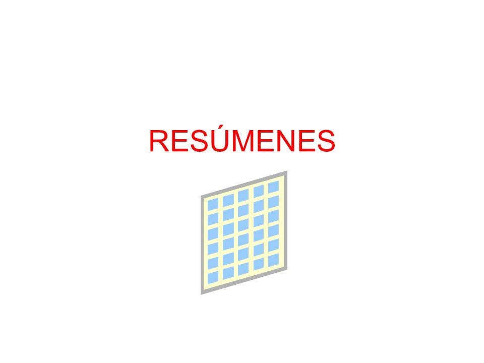 Administración de resúmenes en Oracle Resúmenes son creados utilizando vistas materializadas (materialized views) y dimensiones.