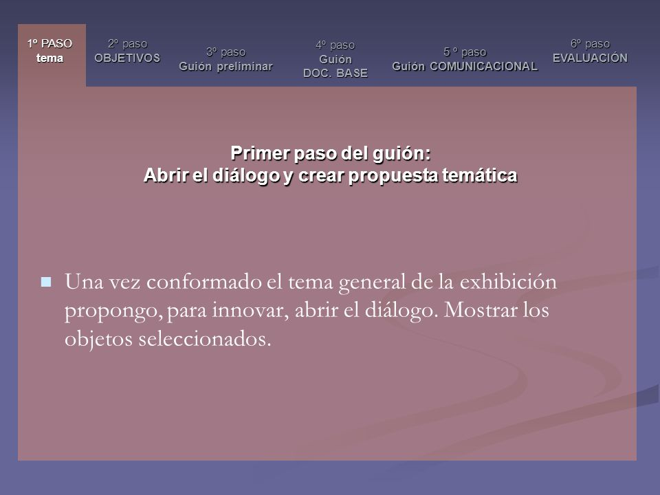 Francisca Valdés Valdés Encargada Área de Exhibiciones Subdirección Nacional de Museos DIBAM francisca.valdes@museoschile.cl
