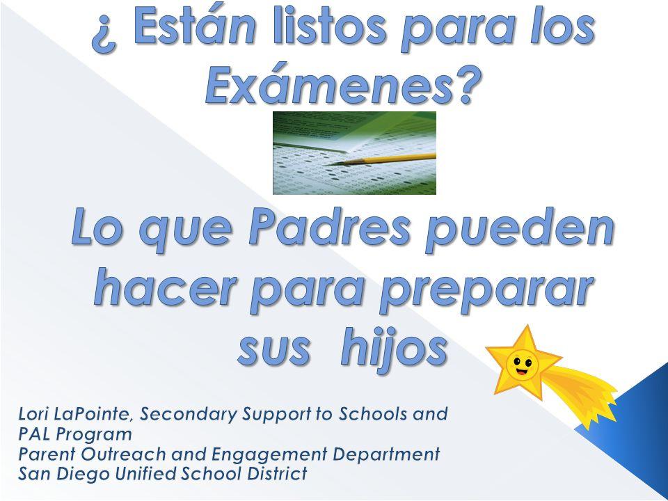 Normas basado Pruebas en español (STS) La versión en español de las pruebas estándares de California Aplica a los estudiantes que aprenden Inglés de habla española que han estado inscritos en escuelas de los EE.UU.