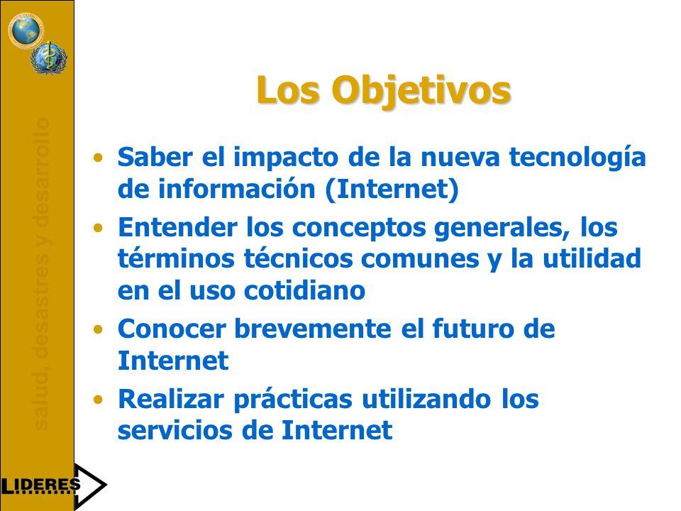 salud, desastres y desarrollo 199519961997199819992000 LIDERES Toma de decisiones basado en la información