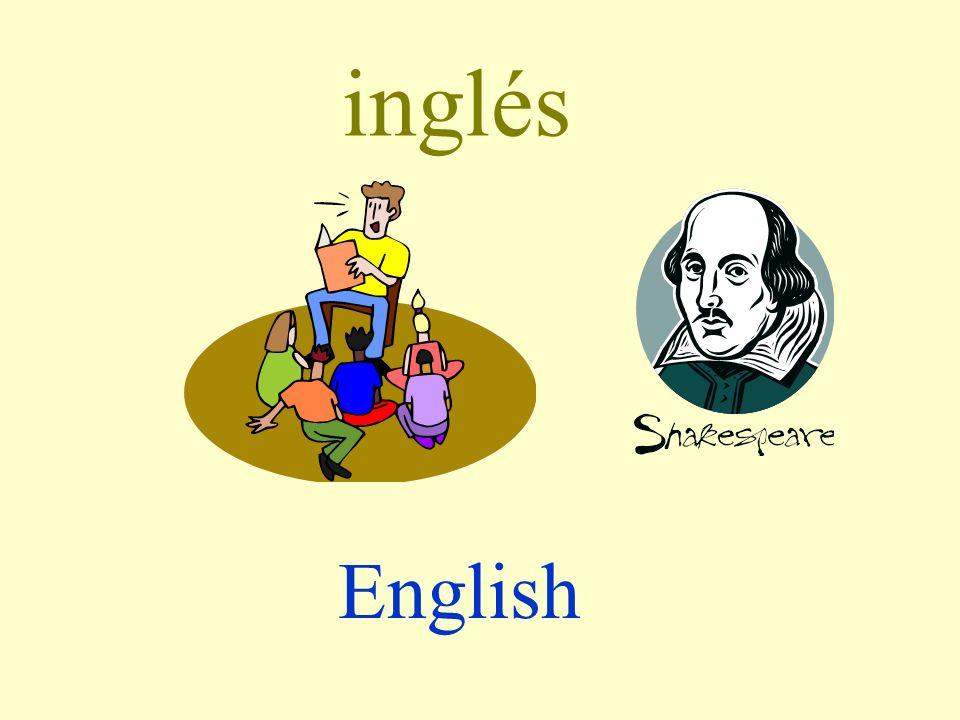 inglés English
