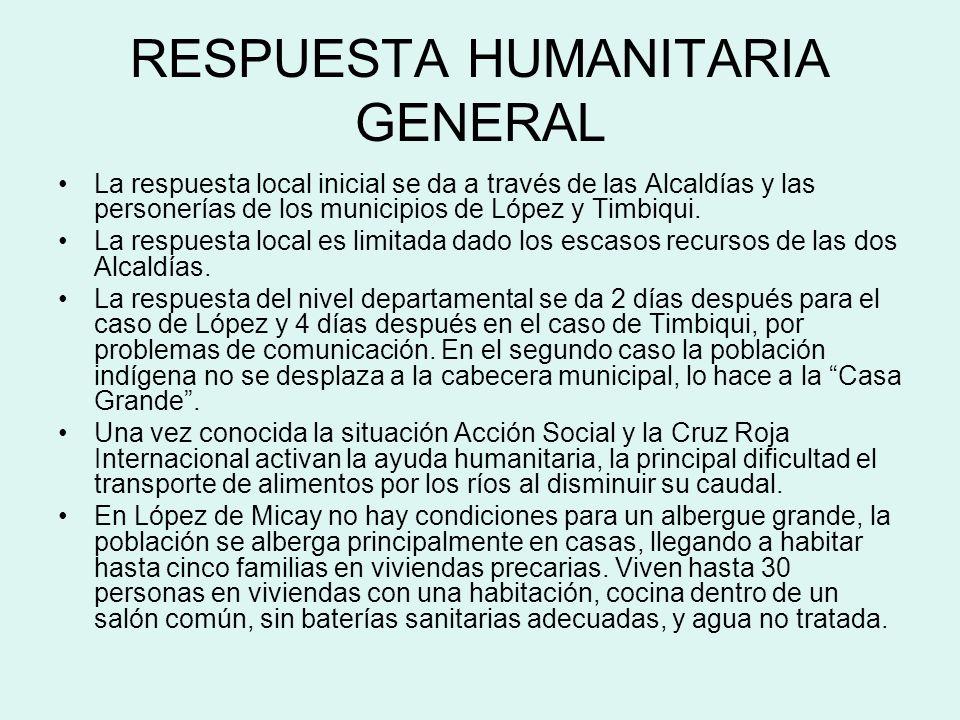 RESPUESTA DEL SECTOR SALUD No hay experiencias en el manejo de desplazamientos masivos en el pacífico por parte de la nueva Secretaria de Salud y las nuevas ESEs.