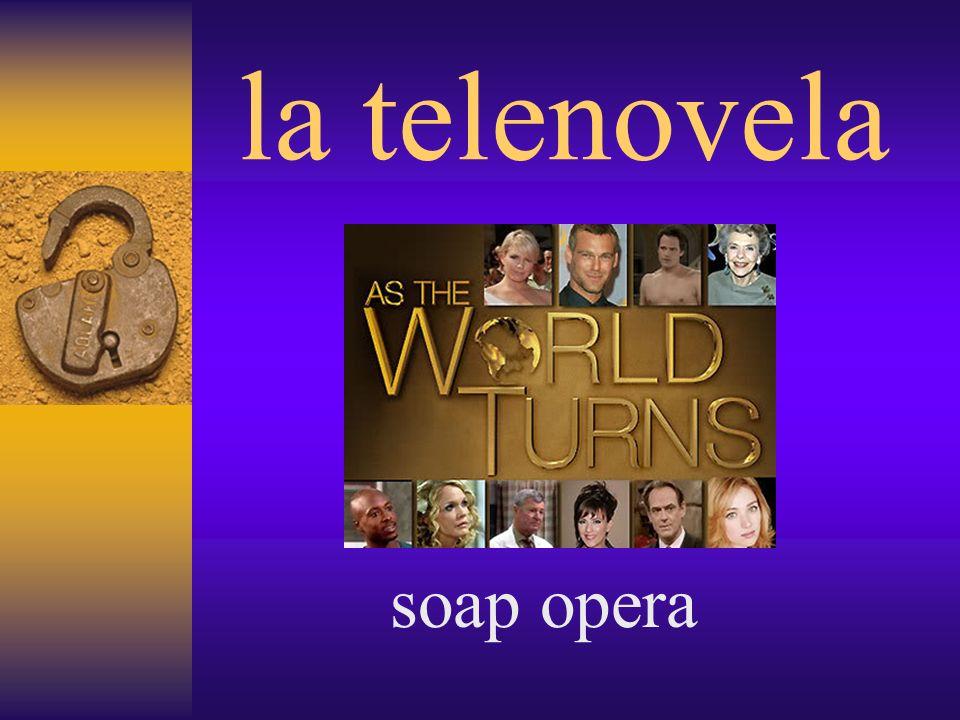la telenovela soap opera