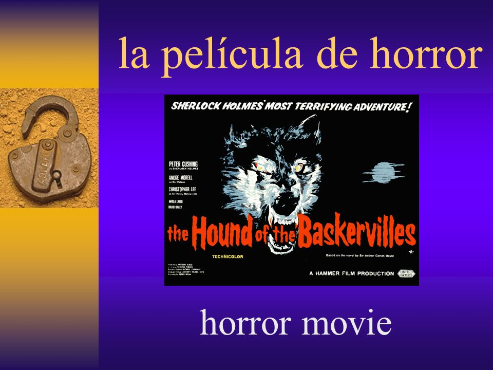 la película de horror horror movie