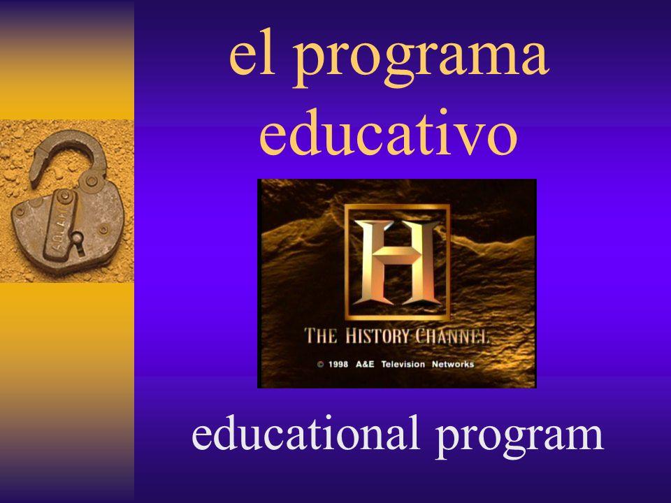 el programa musical musical program