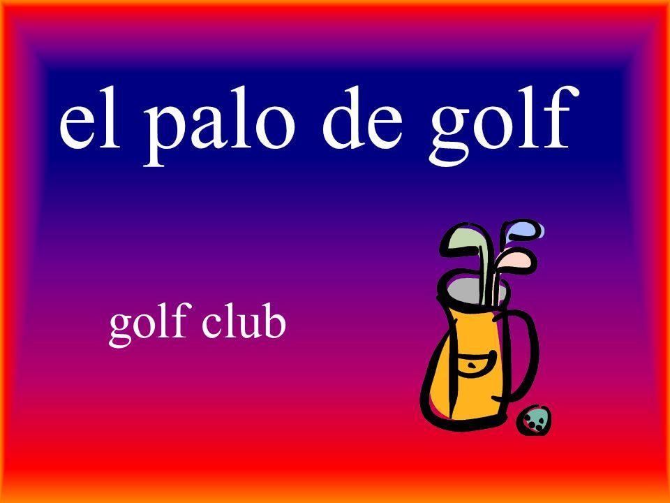 el palo de golf golf club
