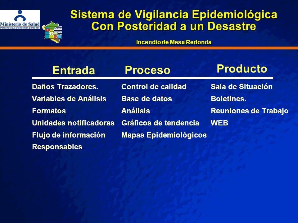REQUERIMIENTO _____________________________________________ ____________________________________________ Implementación del sistema de vigilancia epidemiológica posterior al Incendio de Mesa Redonda