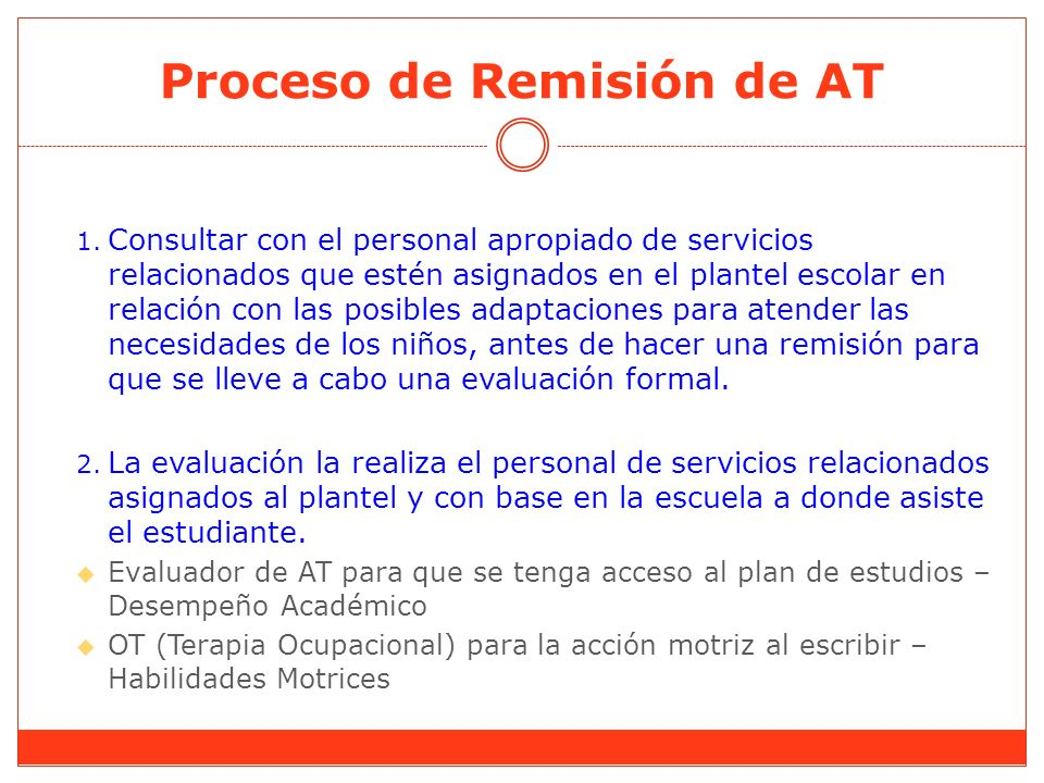 Proceso de Remisión de AT 1.
