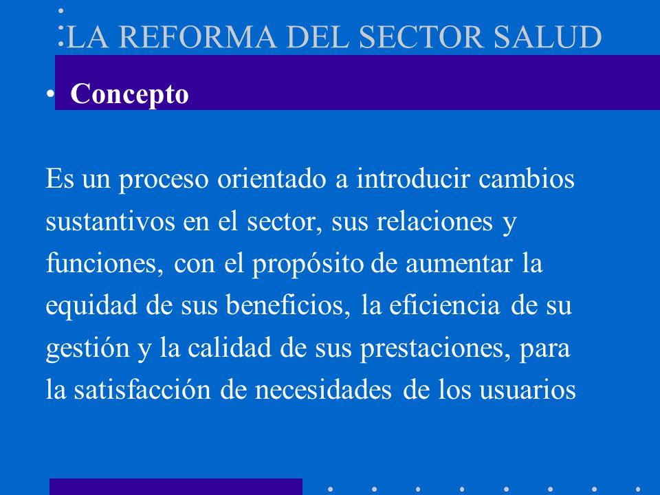 República de Nicaragua Ministerio de Salud LA REFORMA DEL SECTOR SALUD Y LOS DESASTRES Elaborado por: Dr. Jorge Orochena Santana agosto del año 2000