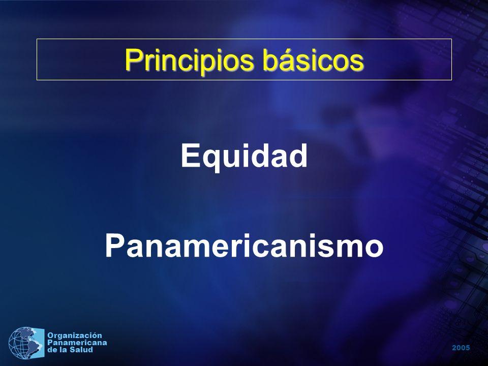 2005 Organización Panamericana de la Salud MISION DE LA OPS Liderar esfuerzos colaborativos estratégicos entre los Estados Miembros y otros aliados, p