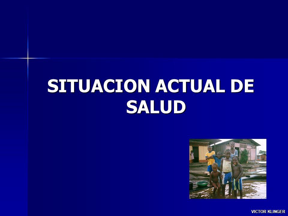 SITUACION ACTUAL DE SALUD VICTOR KLINGER